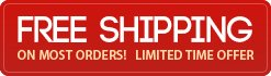 Free Shipping On All Orders! Limited Time Offer